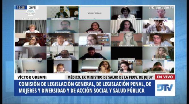 Segunda jornada de debate de la legalización del aborto en comisiones de Diputados