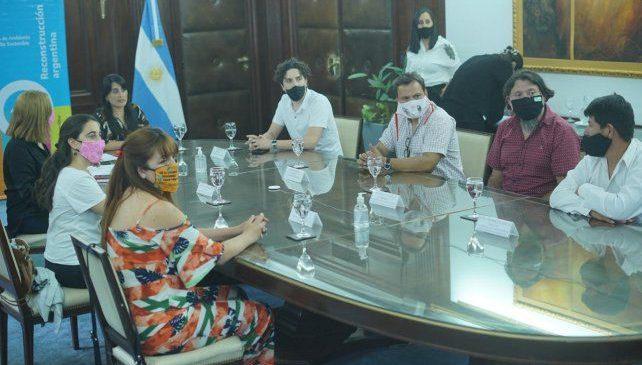 Mocovíes ayudarán en la protección del humedal de Melincué