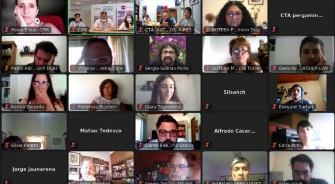 La CPM realizó un encuentro con querellantes y víctimas del espionaje político en la provincia de Buenos Aires