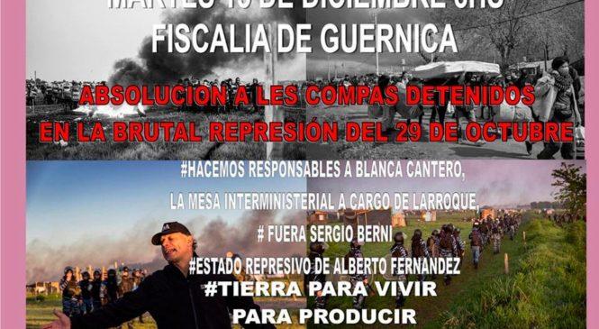 """Guernica vive, la lucha sigue"""