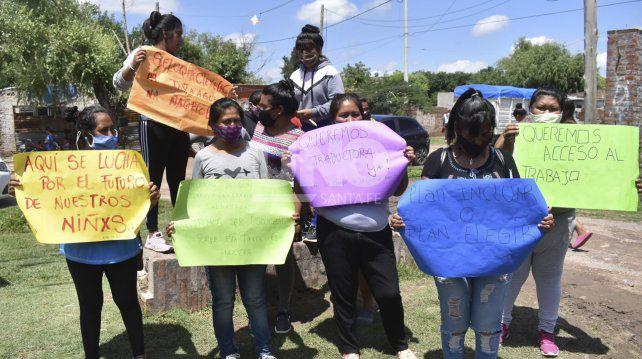 Santa Fe: la comunidad Qom se manifestó para reclamar por acceso a la salud