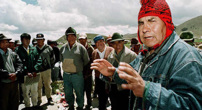 El último vuelo del cóndor: murió el líder indígena Felipe Quispe