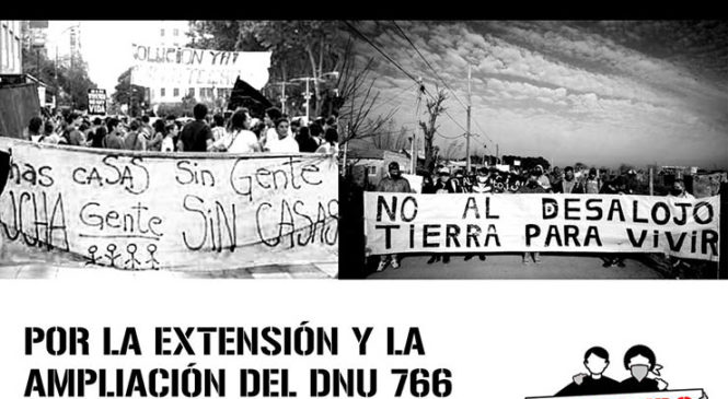 #ProhibidoDesalojar: Asambleas de Inquilinos y Habitantes movilizarán por extensión del DNU 766