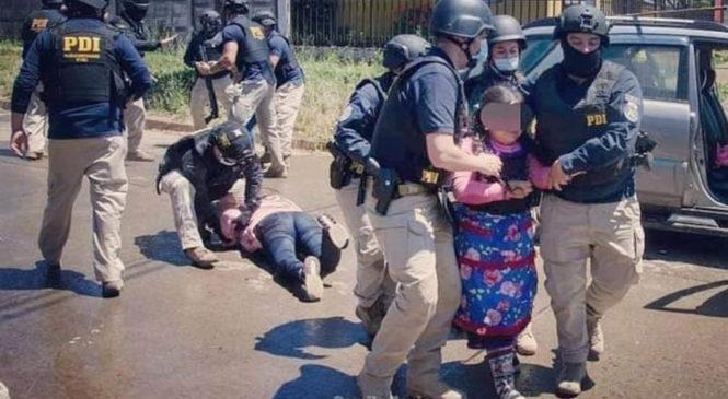 El Estado chileno comenzó el año reprimiendo a la familia Catrillanca