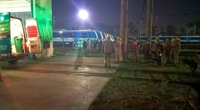 Tren Roca: dos trabajadores ferroviarios electrocutados en los depósitos de lavado de Llavallol