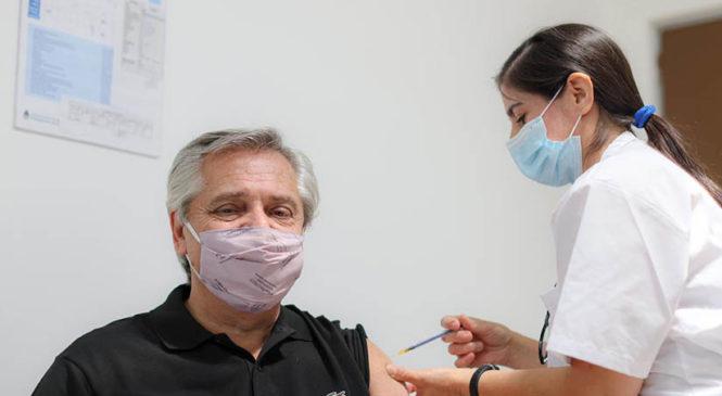 La vacunación del Presidente