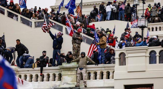 EEUU: manifestantes de ultraderecha atacaron al Congreso en rechazo a derrota de Trump