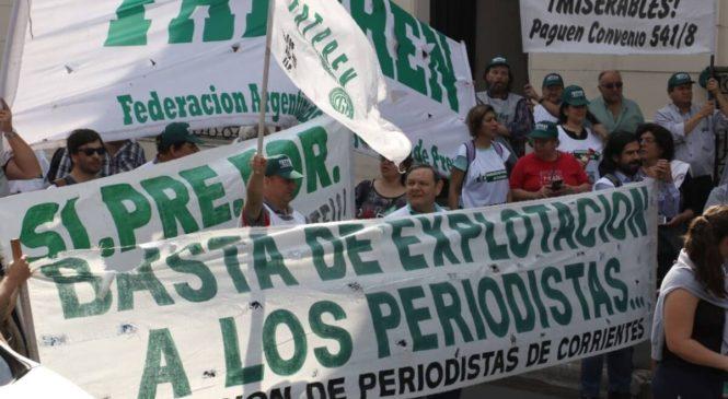La FATPREN denunció incumplimiento del Convenio en diarios y portales periodísticos