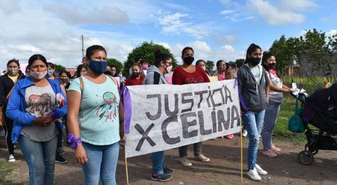 Mayor Buratovich: Reclaman justicia por el femicidio de Celina Yésica Paredes