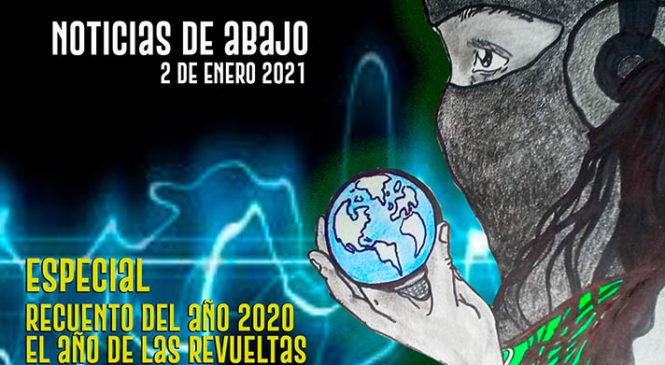 Noticias de abajo Especial Recuento del 2020. El año de las revueltas en Pandemia