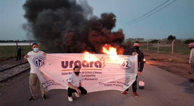 Tras 29 días de huelga URGARA firmó su paritaria con puertos privados