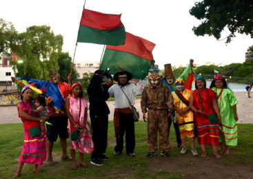 Cierre del Arete de la comunidad Guaraní