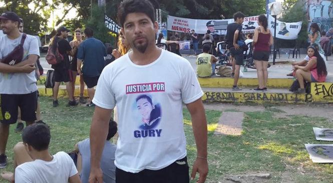 """Caso Gury Farfán: """"Mi hijo fallece dentro de la comisaría, es un caso similar al de Luciano Arruga"""""""