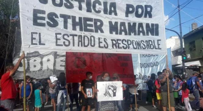 Justicia para Esther Mamani