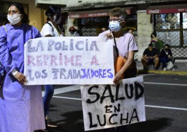 Represión a trabajadores de la Salud