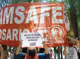 Santa Fe: manifestaron contra las destitularizaciones docentes