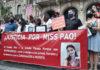 Premio al juez que sobreseyó al femicida de Paola Tacacho