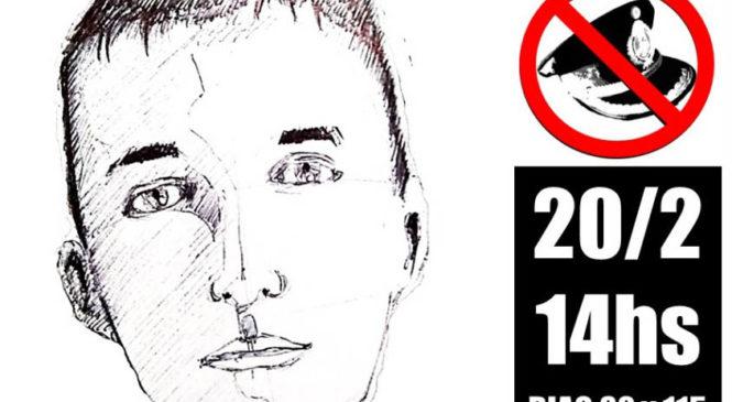 20/2: Jornada antirrepresiva al cumplirse 8 años sin Omar Cigarán