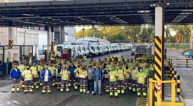 CABA: Camioneros logró bono para trabajadores de riesgo y levantó el paro en Recolección