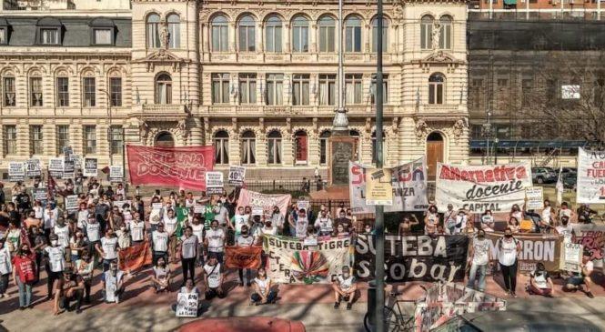 Plenario de docentes bonaerenses votó paro por 48 horas y jornada nacional de lucha