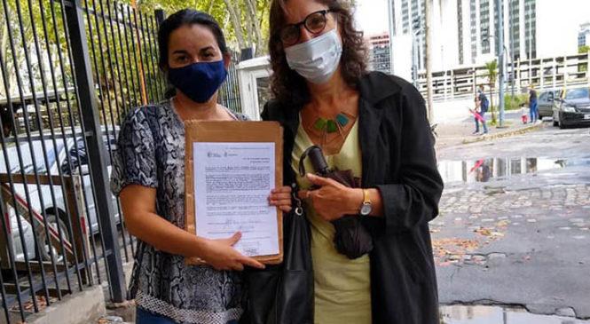 Otorgaron refugio político en Argentina a la familia de Carmen Villalba
