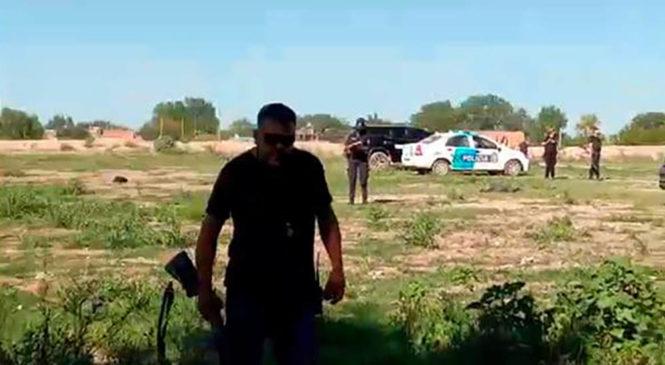 Represión y desalojo ilegal en Tristán Suárez, Partido de Ezeiza