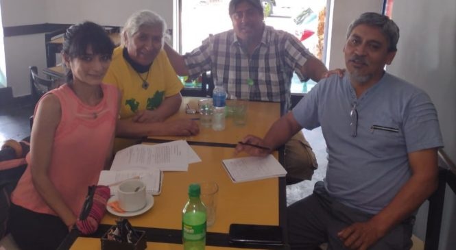 La Comunidad Mink'Akuy Tawantinsuyupaq se reunió con el INAI