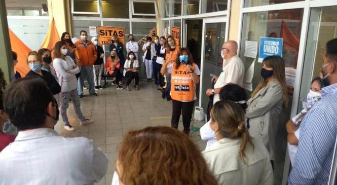 Medidas de fuerza de la salud en Tucumán y Neuquén