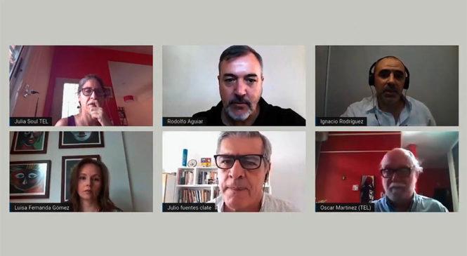 """Teletrabajo: """"Riesgos y desafíos para los/as trabajadores/as y las organizaciones sindicales"""""""