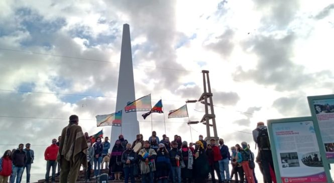 Acto de reparación a la memoria mapuche en Neuquén