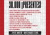 A 45 años del Golpe: 30.000 ¡Presentes!