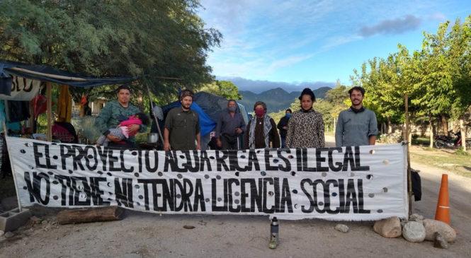 Rechazan habeas corpus preventivo de vecinxs de Andalgalá