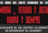 """Amedrentamiento contra la señalización del ex centro clandestino """"El Cilindro"""""""
