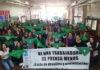 """Prensa: """"las trabajadoras somos las más precarizadas"""""""