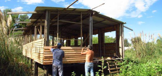 Continúa la construcción colectiva en la Comunidad Indígena Punta Querandí
