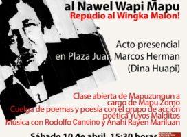 Repudio al Wingka Malon (Campaña al Desierto) a 140 años de su llegada al Nawel Wapi Mapu