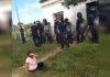 La Policía Bonaerense reprimió a seis familias durante un desalojo en Lobos