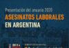 Presentación del anuario 2020 de Asesinatos Laborales en Argentina