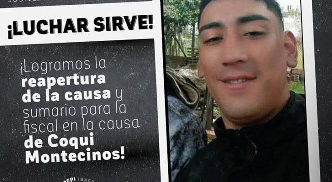 Coqui Montecinos: La lucha le puso freno a la impunidad