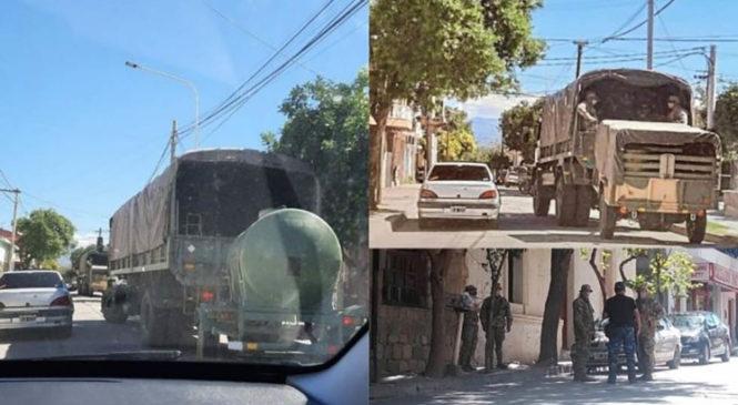 Situación de los detenidos en Andalgalá