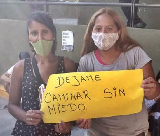 San Fernando: Queremos caminar sin miedo