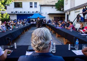La UTEP presentó sus autoridades como sindicato de trabajadores de la economía popular