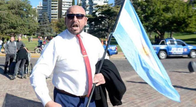 Rosario: ataques a la prensa por parte de manifestantes negacionistas