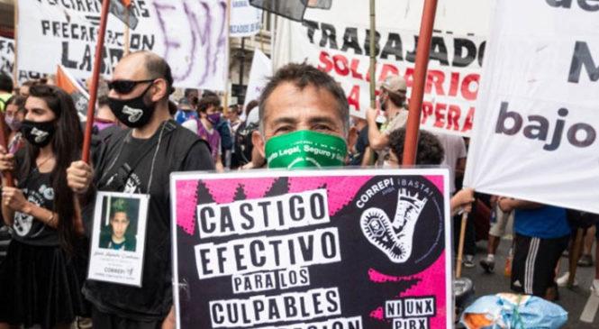 Marcelo Bogado, presente en la lucha diaria de CORREPI