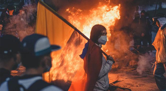 El gran paro nacional en Colombia: Rebelión popular y masacre en el régimen de los uribeños