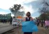Moreno: trabajadores del UPA 12 realizaron una manifestación para exigir el pago de salarios