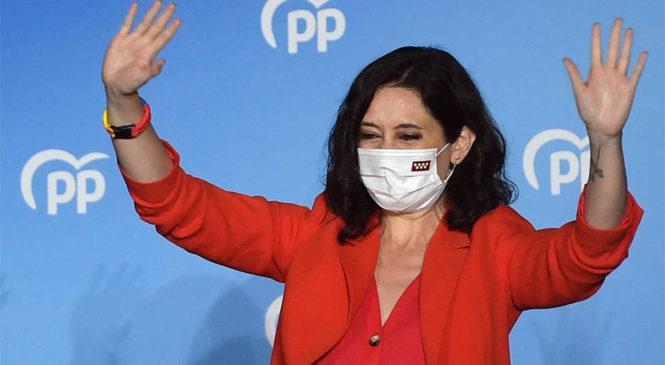 El fascismo que tomó Madrid por las urnas no representa a los pueblos