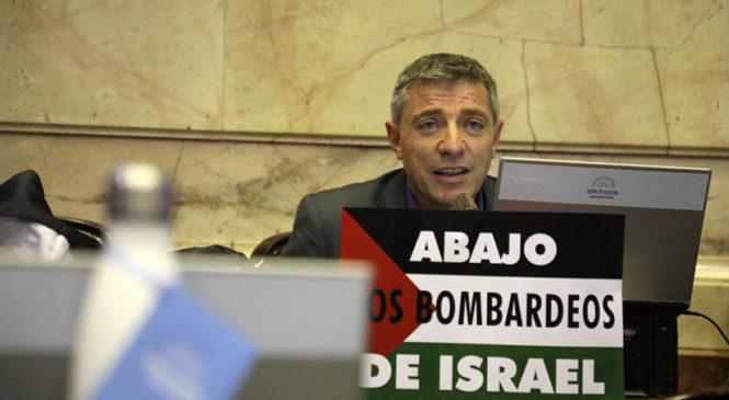 """""""El Holocausto es para los judíos lo que la Nakba para el pueblo palestino"""""""