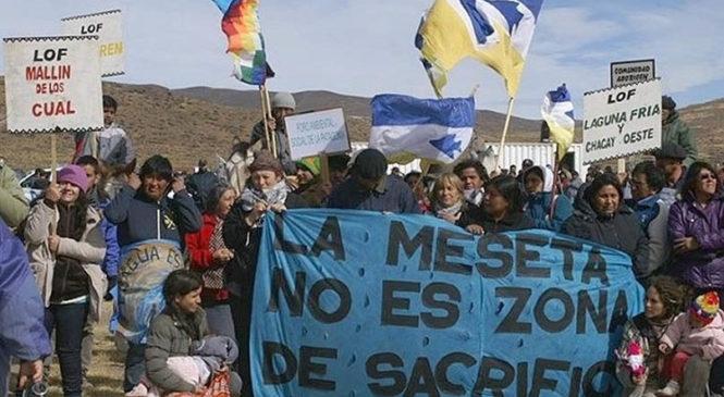 Chubut: El proyecto de zonificación minera va a juicio por no respetar el Convenio 169 de la OIT