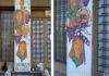 Repudian las pintadas sobre un mural en el Colegio de Trabajadores Sociales de La Matanza
